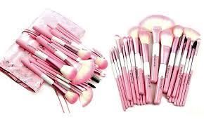 babylicious pink heart 24 piece makeup brush set babylicious pink heart 24 piece