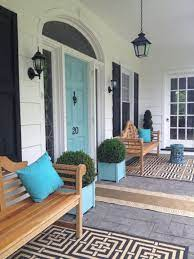 See more ideas about doors, door color, turquoise door. 7 Best Teal And Navy Blue Front Door Colours Benjamin And Sherwin Porch Design Exterior House Colors Front Porch Design