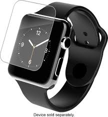 apple nike watch series 2. zagg - hd clear shield screen protector for apple watch™ 42mm angle nike watch series 2