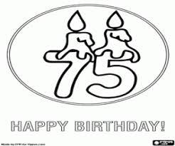Kleurplaat Verjaardag Opa 75 Jaar Archidev Kleurplaat Verjaardag