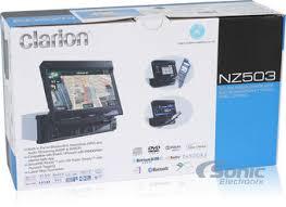 clarion nz503 single din gps bluetooth car stereo w 7\