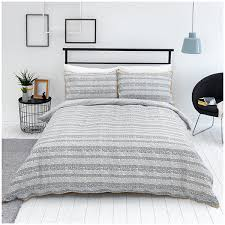 sainsburys helsinki dash duvet cover 2 pillow superking 180 thread bed linen new