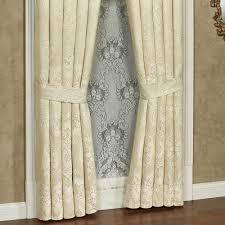 split pair shower curtains ideas