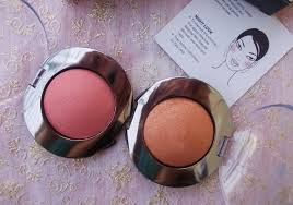 soft smooth blush blends easily shimmer brings out a nice glow to the cheeks good balance of shimmer and colour payoff apt for party makeup