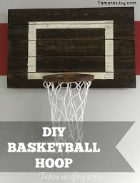 build your own basketball hoop
