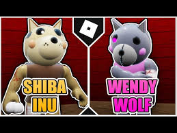 How to get WENDY WOLF and SHIBA INU BADGES + MORPHS in PIGGY RP :  INFECTION! [ROBLOX] دیدئو dideo