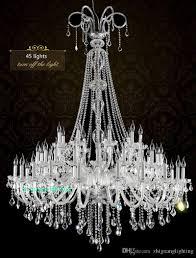 Großhandel Glaskristalle Für Kronleuchter Wohnzimmer Hotel Large Double Layer Kronleuchter K9 Kristall Leuchtet Luxus Kronleuchter Kristall Licht Von