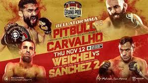 Prelims (youtube at 6 p.m. Bellator 252 Live Stream Results Tonight November 12 Fight Sports