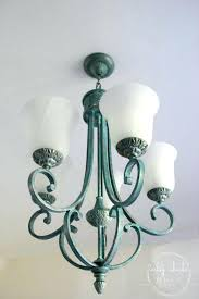how to paint a chandelier without taking it down how to clean a chandelier paint chandelier