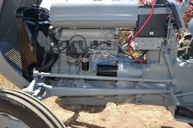 1954 tea20 wiring yesterday s tractors i thought i connected the earth ground on my tea20 to one of the starter motor bolts but looking at the photo it appears i connected the earth ground to