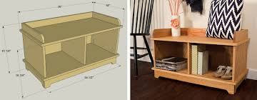 Entryway Storage Bench  Kreg Tool CompanyKreg Jig Bench Plans