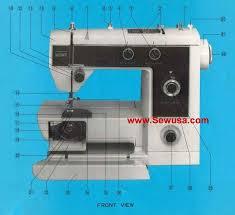 Montgomery Ward Sewing Machine Uht J 1980