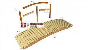 garden bridge plans myoutdoorplans
