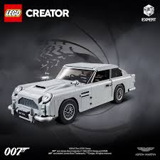 Uncover The Secrets Of 007 S Most Famous Vehicle With The Lego Creator Expert James Bond Aston Martin Db5 Aston Martin Pressroom