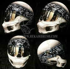 airbrushed motorcycle helmets by rekairbrush motorcycle helmet