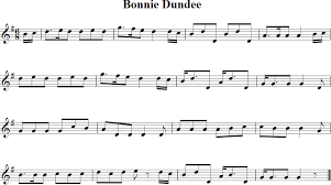 bonnie dundee violin sheet