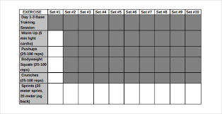 Workout Log Sheets Impressive Workout Log Template Excel The Art Gallery Weight Lifting Template