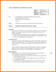 21 Sample Appeal Letter For Unemployment Overpayment Standart