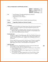 Unemployment Resume Sample 24 Sample Appeal Letter For Unemployment Overpayment Standart 21