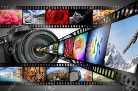 Film Strips Pictures Dslr Camera With Film Strips Stock Photo Picture And Royalty Free
