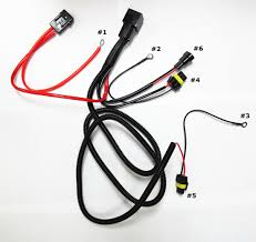 single beam hid conversion kit relay wire harness ledonlineworld single beam hid conversion kit relay wire harness ledonlineworld com led light bars off road lights led strobe lights