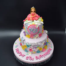 Cakeinspiration Singapore Crafted Princess In Tiara And Ballerina