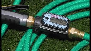 garden hose flow meter. Garden Hose Water Meters Flow Meter E