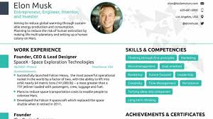Elon Musk Resume Beauteous Can Anyone Fit Elon Musk's Resume In A Single Page A Job Assistance