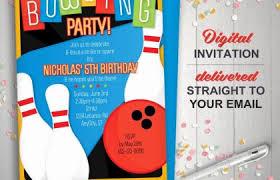 Einladungskarte Bowling Einladungskarte Format 45 New Bowling Party