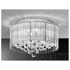 crystal drop ceiling lights photo 8