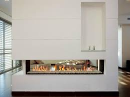 2 sided electric fireplace insert