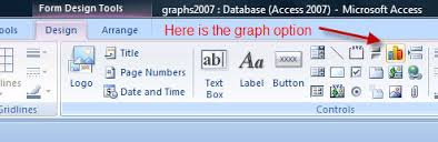Creating Charts In An Access 2007 Database