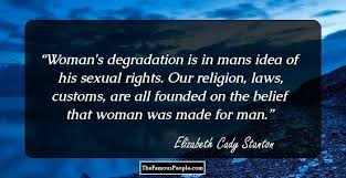 40 ThoughtProvoking Quotes By Elizabeth Cady Stanton Impressive Elizabeth Cady Stanton Quotes