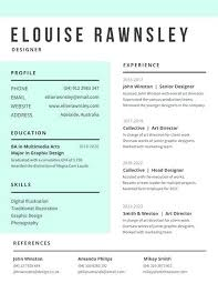 Modern Resume Templates Green Contemporary Resume Templates Reluctantfloridian Com