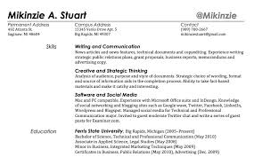 What Kind Of Skills To Put On Resume Twitterhandle In Resume The
