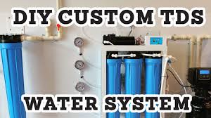 Home Soft Water Systems Diy Custom Tds Water Filtration System For Perfect Coffee Water