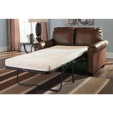 Ashley Furniture Lottie DuraBlend Twin Sofa Sleeper in Chocolate