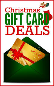 gift card deals a huge list of national and local gift card offers