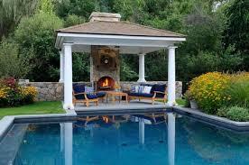 patio with square pool. Backyard Patio Ideas With Gazebo Design Square Pool O