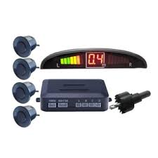 LED With 4 Sensors Car Parking Radar Monitor Parking Distance ...