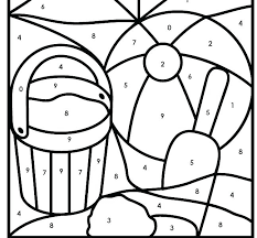 Free Printable Color By Number Pages Numbers 1 Coloring Pages Colors