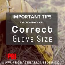 Youth First Base Glove Size Chart Baseball Glove Sizes Guide