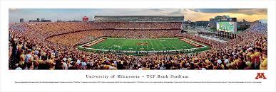 Minnesota Golden Gophers Football Panoramic Photo 13 5 X 40