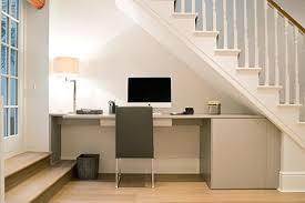 under stairs office. Minimalist Under-stairs Office Under Stairs