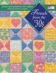 Cotton Candy Quilts: Using Feedsacks, Vintage and Reproduction ... & Threads from the '30s: Quilts Using Reproduction Fabrics Adamdwight.com