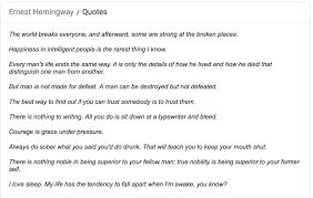 Stop Misquoting Leonard Cohen And Ernest Hemingway Start