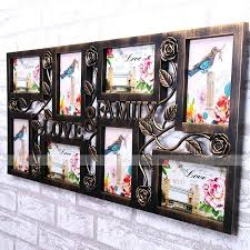 large size of famed yazi vintage family love wall hanging photo collage frame 8 display