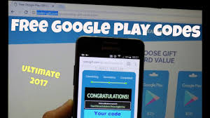 how to get free google play gift card codes generator working 2017