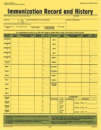 Printable Immunization Record Chart Shot Record Chart Bedowntowndaytona Com