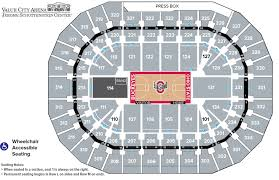 Value City Arena Seating Chart Seating Charts Schottenstein Center